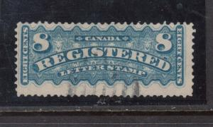 Canada #F3 Used With Light Cancel