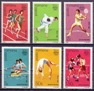 Romania. 1988. 4458-63. Seoul Summer Olympics. MNH.