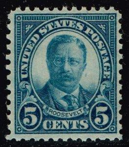 US STAMP  # 637 5c Rotary Press 1926-28 MH/OG