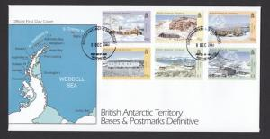 BAT 2003 Bases and Postmarks FDC