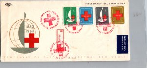 Ethiopia, Worldwide First Day Cover, Red Cross