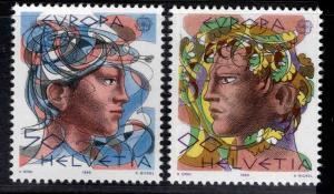 Switzerland Scott 777-778 MNH** Europa 1986 stamp set