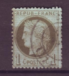 J15193 JLstamps 1870-3 france used #50 ceres