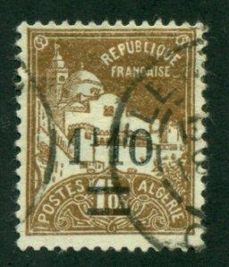 Algeria 1927 #73 U SCV (2020) = $0.50