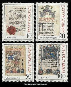 Yugoslavia Scott 1792-1795 Mint never hinged.