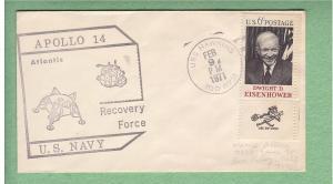 Apollo Recovery Ship: AS-14, U.S.S. Hawkins - Secondary