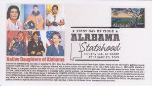 6° Cachets 5360 Alabama Statehood 2019 Native Daughters King Jemison Spencer