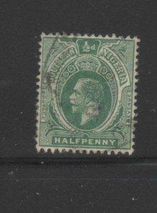 SOUTHERN NIGERIA #45  1912  1/2p  KING GEORGE V   F-VF USED