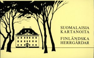 Finland Stamp Sc#672 -(1982) - booklet - Manor Houses