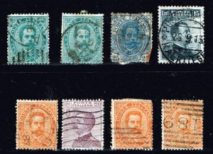 ITALY STAMP USED STAMPS COLLECTION LOT  #M2