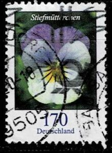Germany 2019, Michel# 3473 used Flower; Pansy