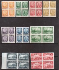 Canada #149P - #159P Extra Fine Proof Block Set On India Paper