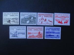 Greenland #112-18 Mint Never Hinged- (HZ8) WDWPhilatelic