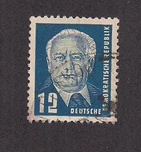 GERMANY - DDR SC# 114 VF U 1952