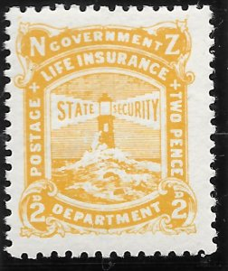 New Zealand OY19 Life Insurance Department 1921 MLH
