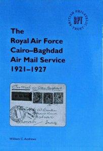 ROYAL AIR FORCE CAIRO - BAGHDAD AIR MAIL SERVICE 1921-1927 Egypt Iraq Flights