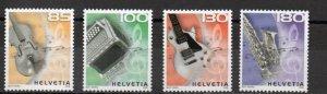 Switzerland 1302-1305 MNH .