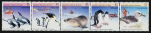 Australian Antarctic Territory L76 MNH Birds, Dolphin, Seal, Ship, Helicopter
