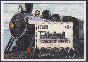 Guyana (1994) #2885 MNH; Locomotive