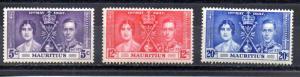 Mauritius 208-210 MLH