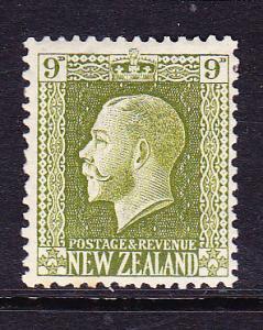 NEW ZEALAND 1915 9d   KGV   MH   SG 429