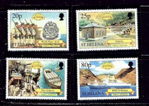 St Helena 769-72 MNH 2001 Anniv of discovery of St Helena