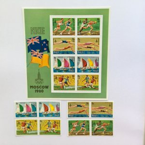 1980 Niue  Moscow Olympic Game Mint