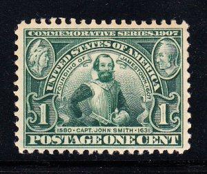 #328 F-VF OG NH Nice stamp!