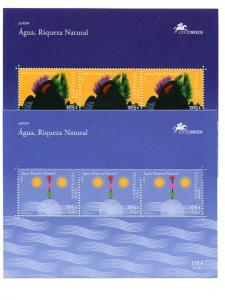 Azores/Madeira  2001 Europa sheets complete VF NH
