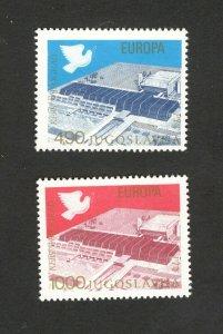 YUGOSLAVIA-MNH -SET-Security Conference Europa- 1977.