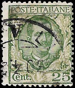 ITALY SC# 82  - USED - NICE ALBUM SPACE FILLER