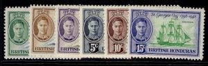 BRITISH HONDURAS GVI SG172-175, complete set, M MINT.