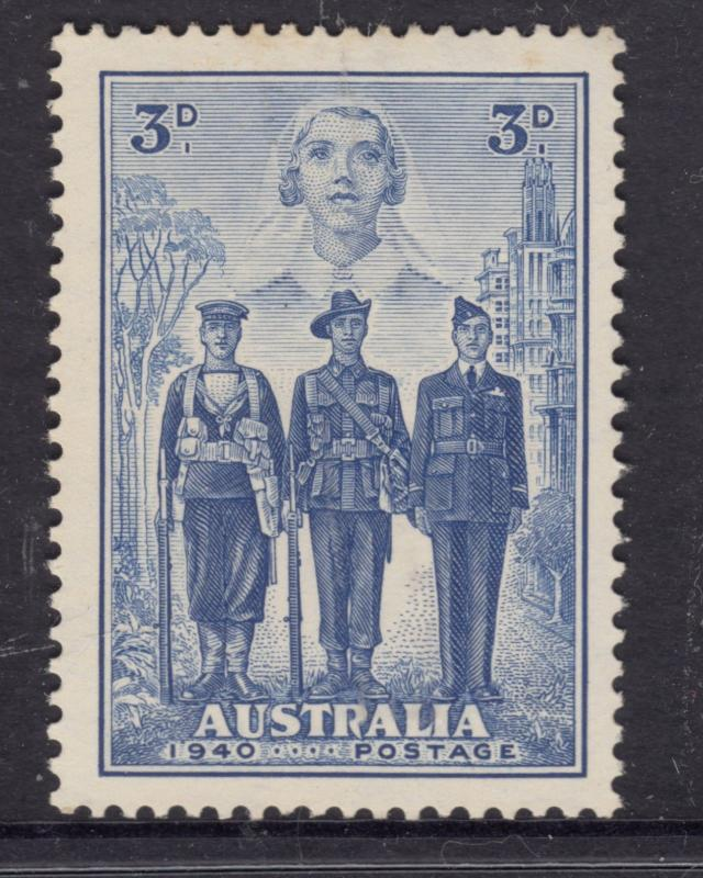 AUSTRALIA 1940 3d AIF Mint Never Hinged.