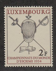 Luxembourg - 1954 - SC 298 - NH