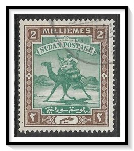 Sudan #10 Camel Post Used