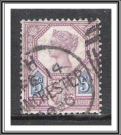 Great Britain #118 Queen Victoria Jubilee Used