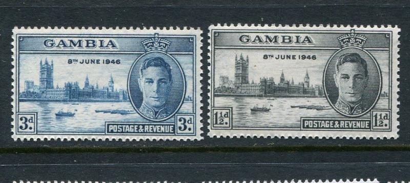 Gambia #144-5 MNH - Penny Auction