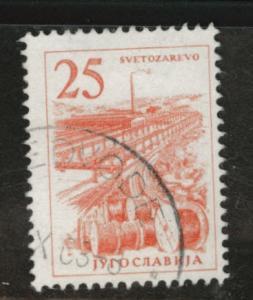 Yugoslavia Scott 634 used stamp