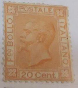 Italy #36* lh (1877)