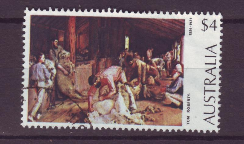 J16465 JLstamps 1973 australia part of set used #576 sheep