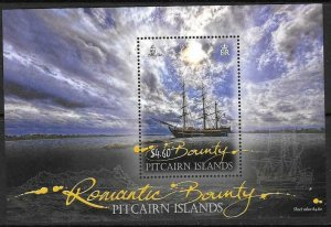 PITCAIRN ISLANDS SGMS860 2012 ROMANITIC BOUNTY MNH