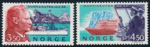 Norway 1042-1043 MNH CV $4.25