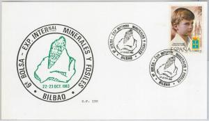 NATURE Shells - SPAIN -  POSTAL HISTORY: CARD with nice postmark  1983