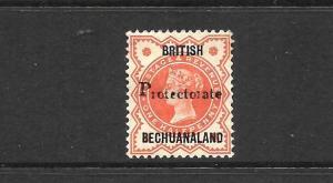 BECHUANALAND  1890   1/2d    QV   MLH      SG 54