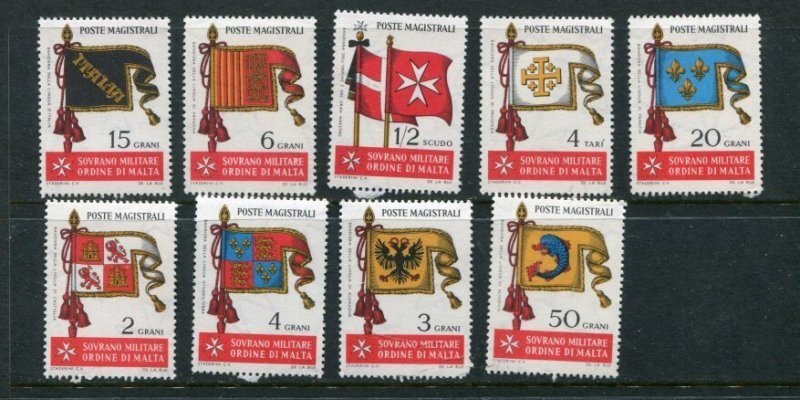 Sovereign Military Order Of Malta Yvert 10-8 MNH