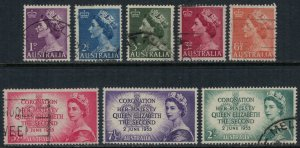 Australia #256-61  CV $5.30