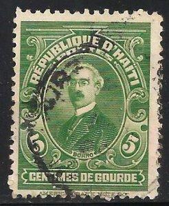 Haiti 1924 Scott# 315 Used
