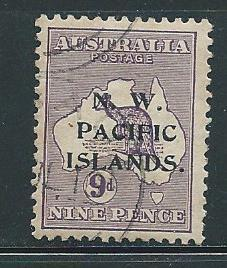 North West Pacific Islands 33 9d Roo single Used