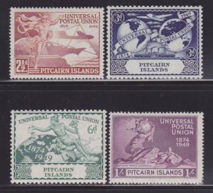 Pitcairn Is 13-16 VF-OG-MLH set nice colors scv $ 44 ! see pic !