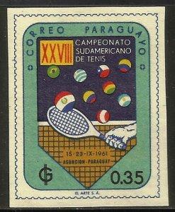 Paraguay 1961 Scott# 605 MH